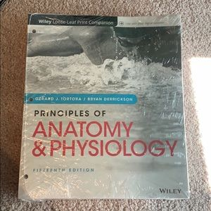 NWOT Anatomy and physiology book